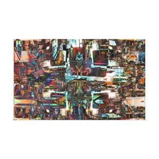 Commerce Canvas Print