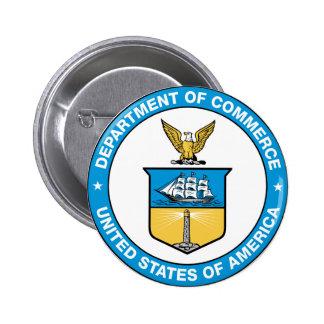 Commerce Department Seal 6 Cm Round Badge