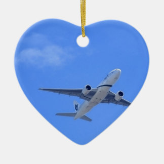 Commercial Airliner Christmas Ornament