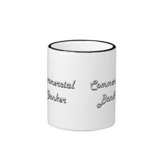 Commercial Banker Classic Job Design Ringer Coffee Mug