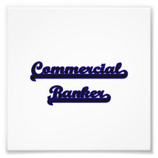Commercial Banker Classic Job Design Photographic Print