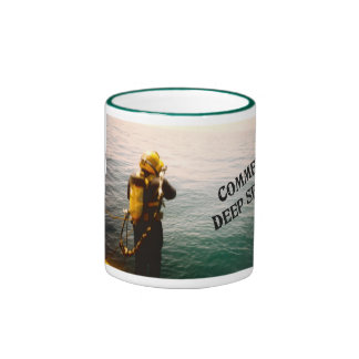Commercial Deep Sea Diver Ringer Mug