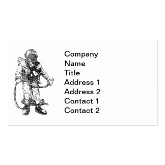 Commercial Diver Business Card
