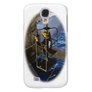 Commercial Diver in Gulf of Mexico iPhone3 case Samsung Galaxy S4 Cases