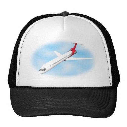 Commercial Jet Airplane: 3D Model: Hat