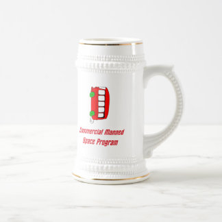 Commercial Manned Space Program Beer Steins