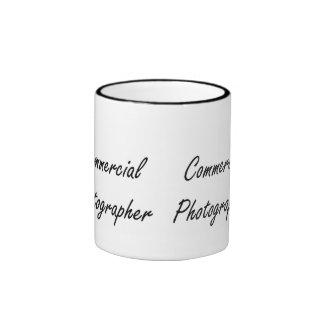 Commercial Photographer Artistic Job Design Ringer Mug