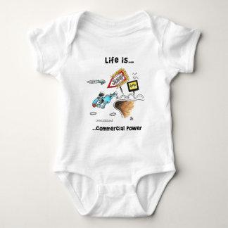 commercial_power baby bodysuit