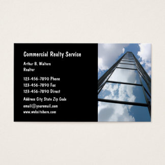 Commercial Real Estate Business Cards