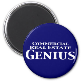 Commercial Real Estate Genius Gifts 6 Cm Round Magnet