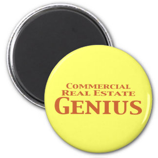 Commercial Real Estate Genius Gifts Magnet