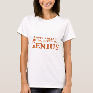 Commercial Real Estate Genius Gifts T-Shirt