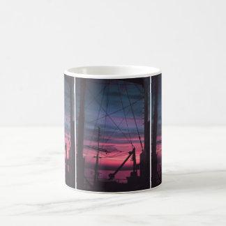 Commercial Riggings with Sunset Basic White Mug