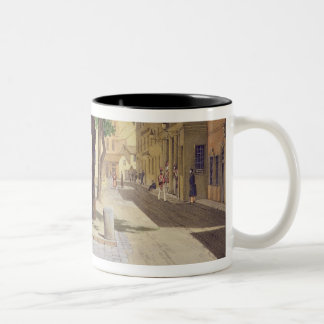 Commercial Square, the Commercial Library and the Two-Tone Coffee Mug