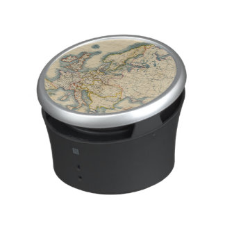 Commerciale Industrial Map of Europe Bluetooth Speaker