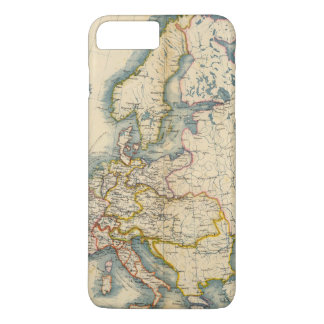 Commerciale Industrial Map of Europe iPhone 8 Plus/7 Plus Case