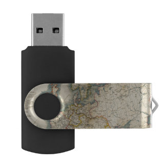 Commerciale Industrial Map of Europe USB Flash Drive