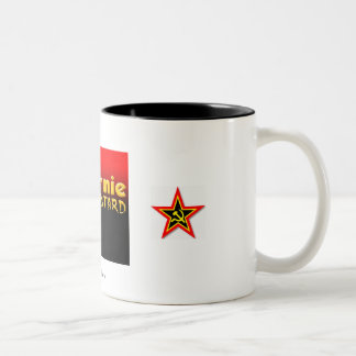 commie bastard, commie star, commie star, 7than... Two-Tone mug