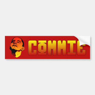 Commie Bumper Sticker