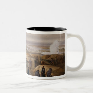 Commissariat Difficulties, plate from 'The Seat of Two-Tone Coffee Mug