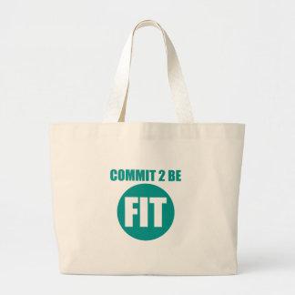 Commit to be Fit | AQUAFRESH Bag