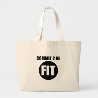 Commit to be fit bag