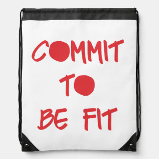 Commit to be Fit Rucksacks