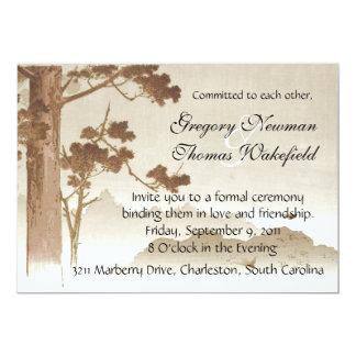 Commitment Ceremony Invitation