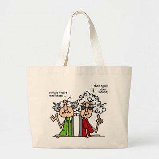 Commitment - Insanity Jumbo Tote Bag