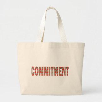 COMMITMENT Promise Oath Responsibility LOWPRICE GI Jumbo Tote Bag