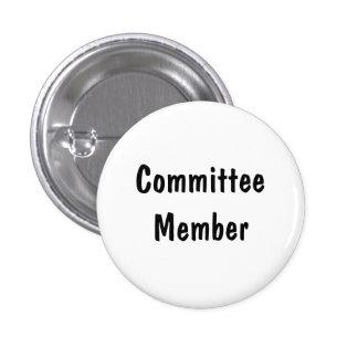Committee Member 3 Cm Round Badge