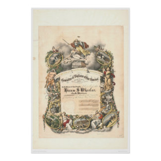 Committee of Vigilance of San Francisco (1825A) Poster