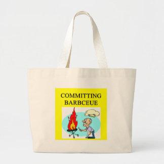 committing barbecue joke bags