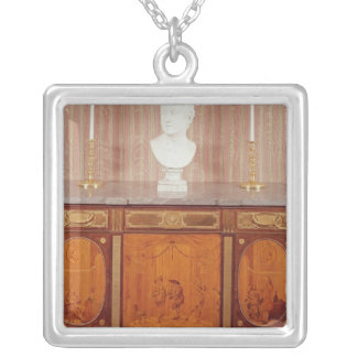 Commode, 1776-79 silver plated necklace