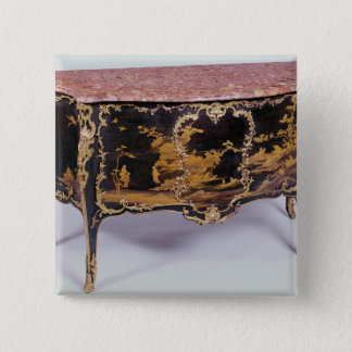 Commode, French, mid 18th century 15 Cm Square Badge