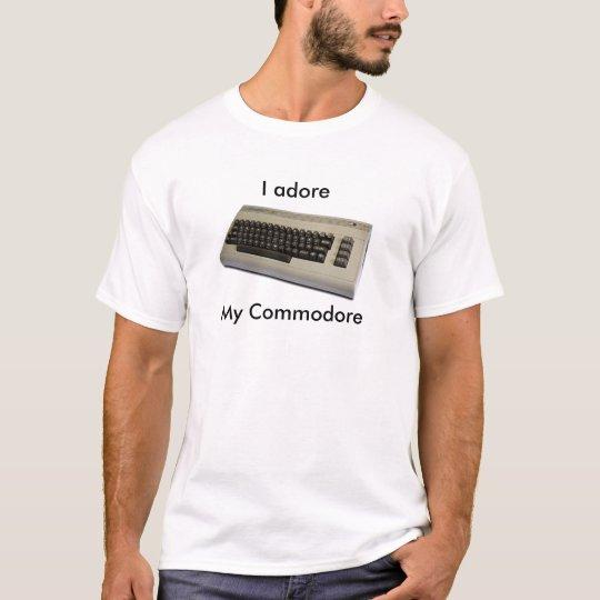 commodore64, I adore, My Commodore T-Shirt