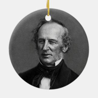 Commodore Cornelius Vanderbilt Portrait circa 1850 Christmas Ornament