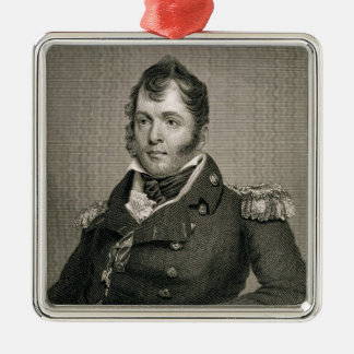 Commodore Oliver Hazard Perry (1785-1819), engrave Christmas Ornament