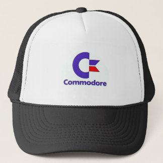 commodore retro trucker hat