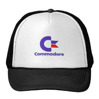 commodore retro trucker hat