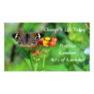 Common Buckeye Random Acts of Kindness Cards Pack Of Standard Business Cards