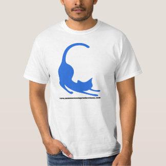 Common Cats Logo Blue T-Shirt