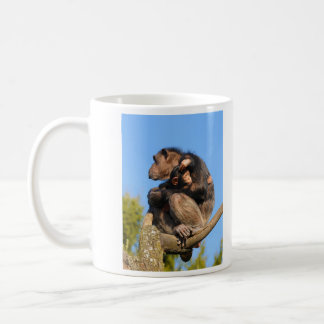 Common Chimpanzee Chimp Pan Troglodytes Coffee Mug