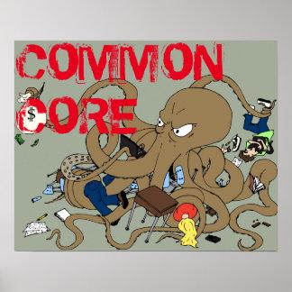 Common Core (20x16 Matte) Poster