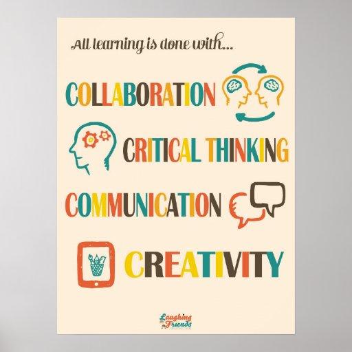 Common Core 4Cs Poster (21st Century Skills)