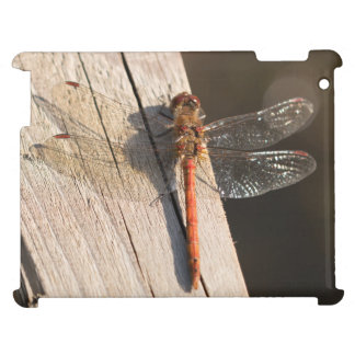 Common Darter Dragonfly iPad Case