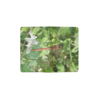 Common Darter Dragonfly Notebook Cover