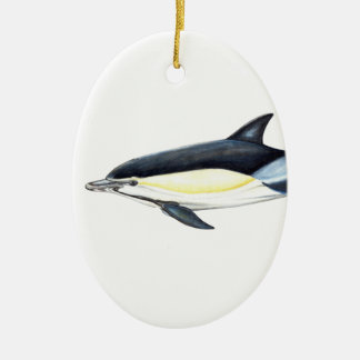 Common dolphin Delphinus delphis Christmas Ornament