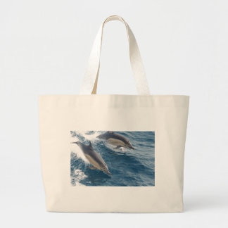 common-dolphins-914 jumbo tote bag