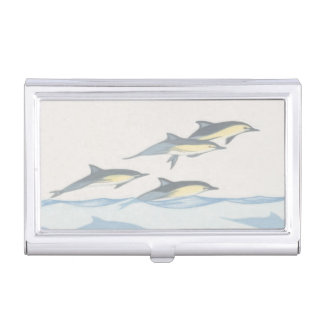 Common Dolphins Business Card Holder